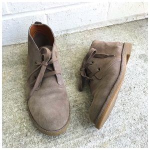 Lucky Brand Emillia Suede Desert Ankle Boots